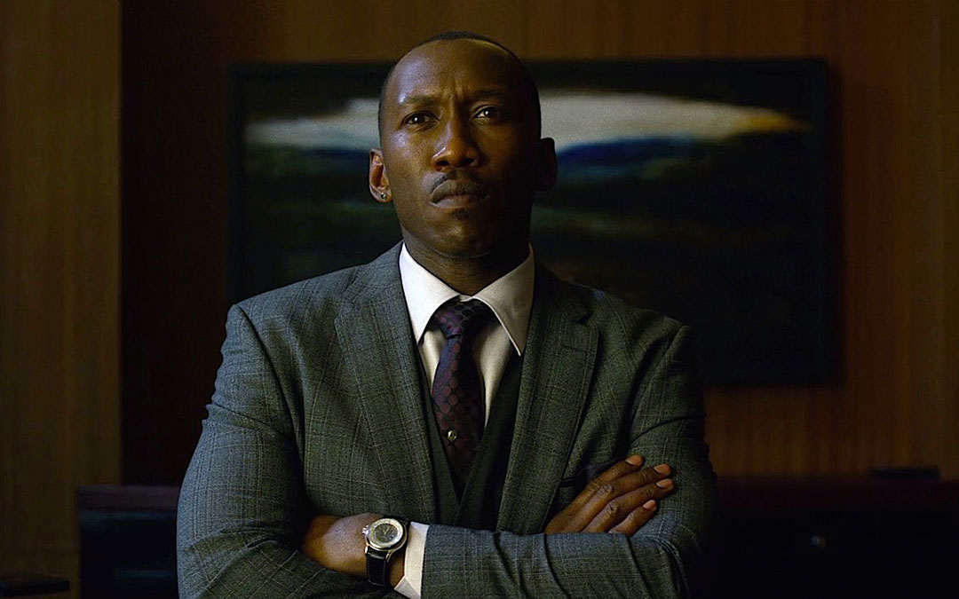 Can you identify Cottonmouth's watch on Luke Cage?