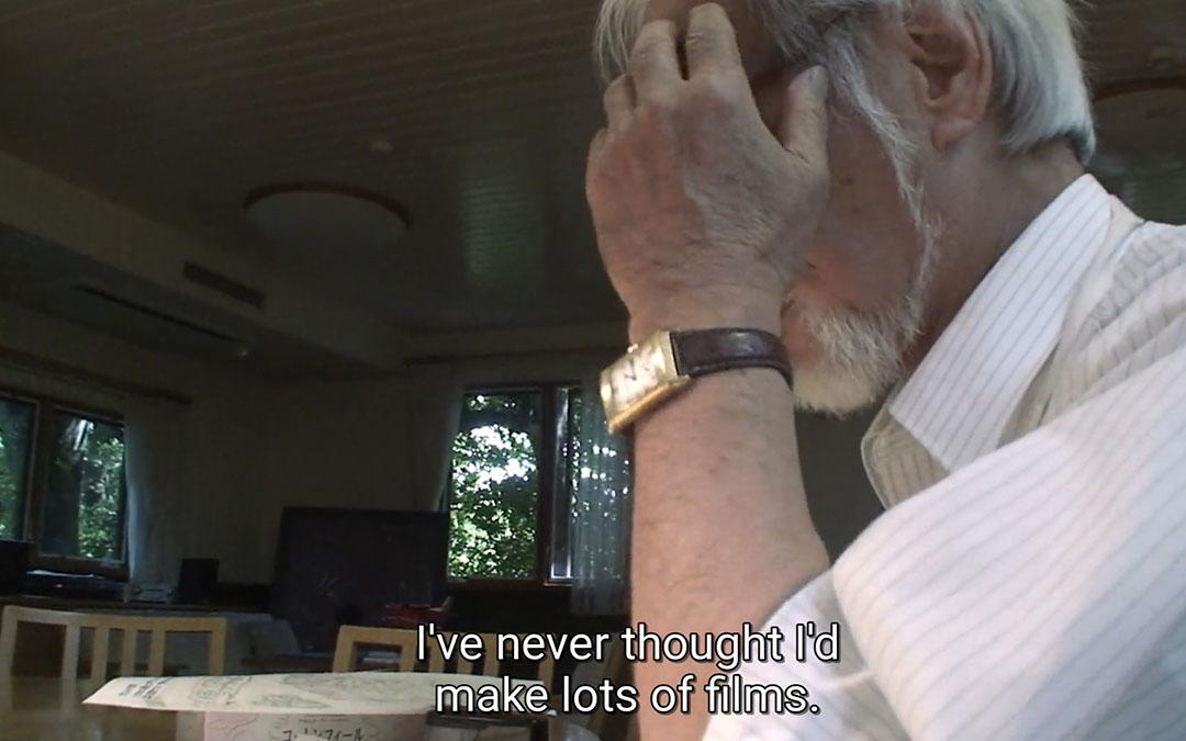Can you identify Hayao Miyazaki's watch?