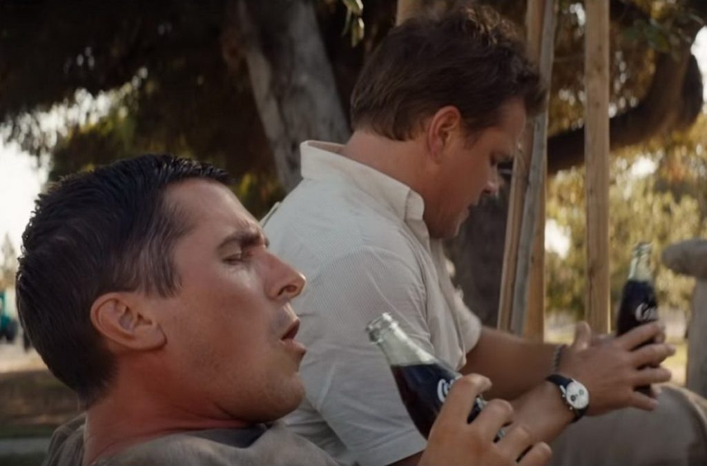 Can you identify Matt Damon's watch in Ford v Ferrari?