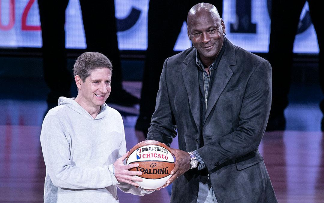 Can you identify Michael Jordan's timepiece?