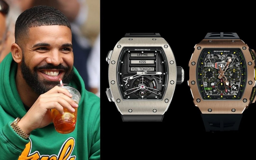 A Review of Drake's Watch Collection