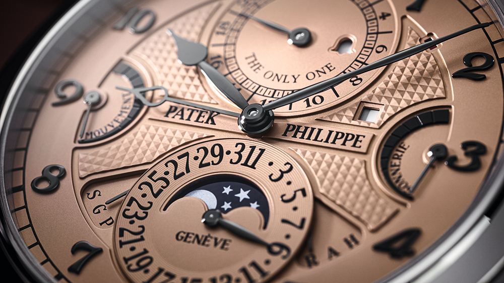 Four Patek Philippe Watches with Everyday Complications